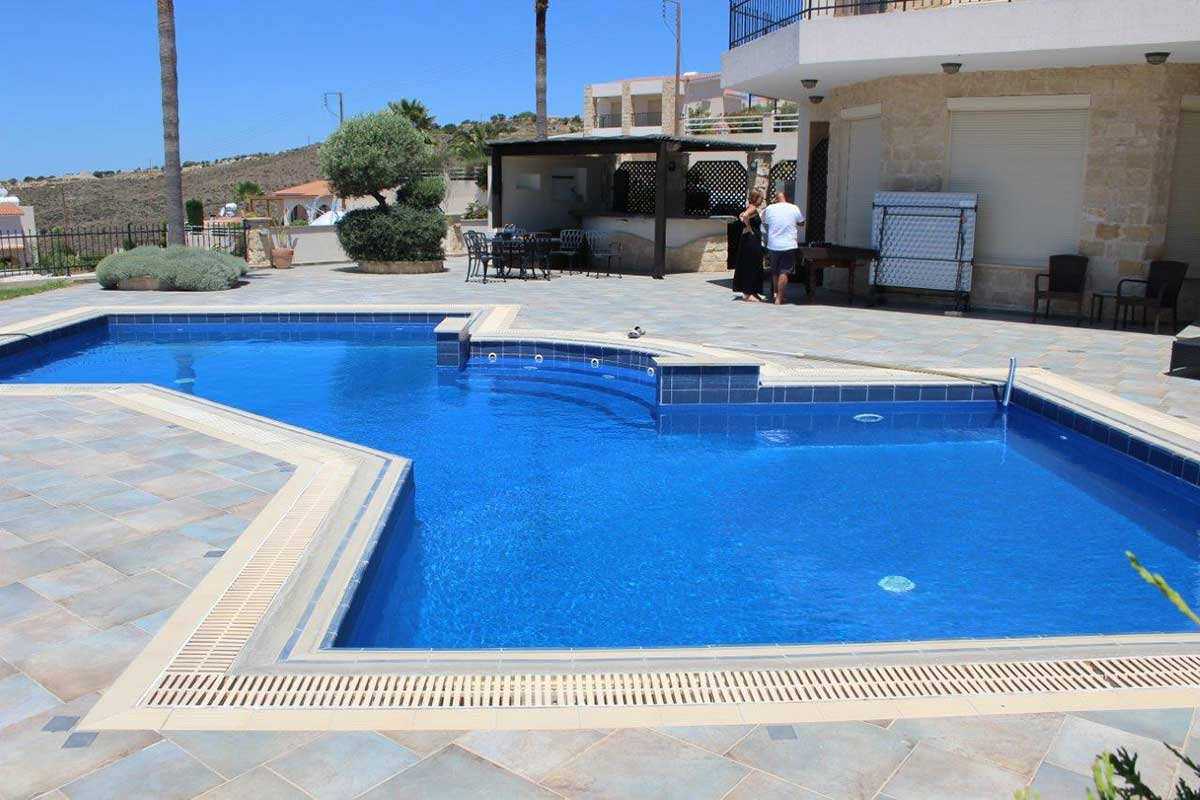 The Pool People, new pool liner installation in Tremithousa, Paphos Cyprus