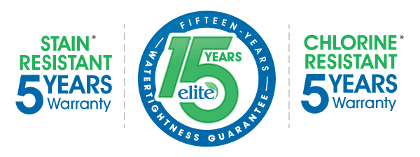 Elbtal Elite 15 Year Warranties from The Pool People, Peyia Cyprus