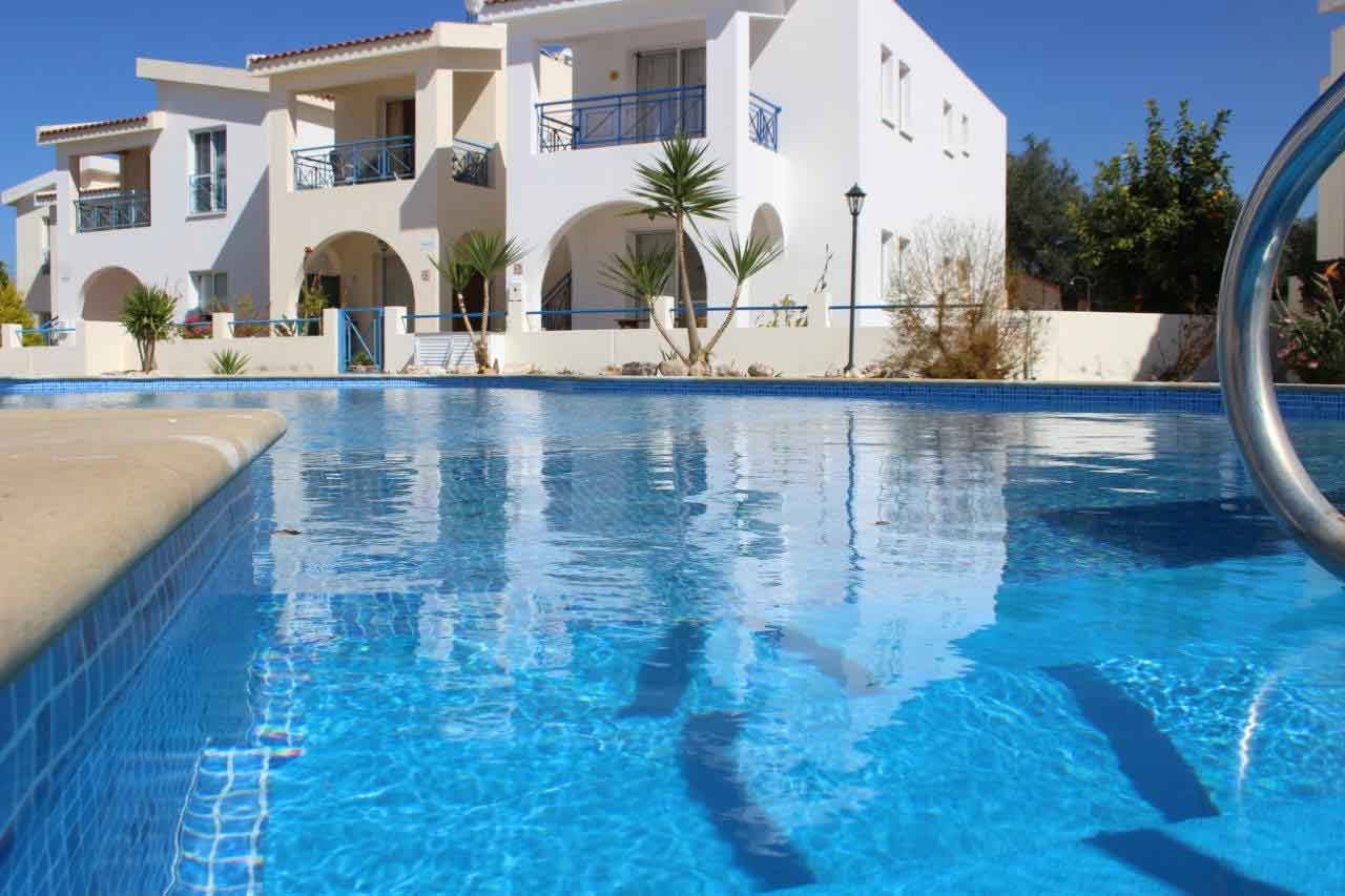 Lemon Grove Communal Pool complete transformation by The Pool People, Cyprus
