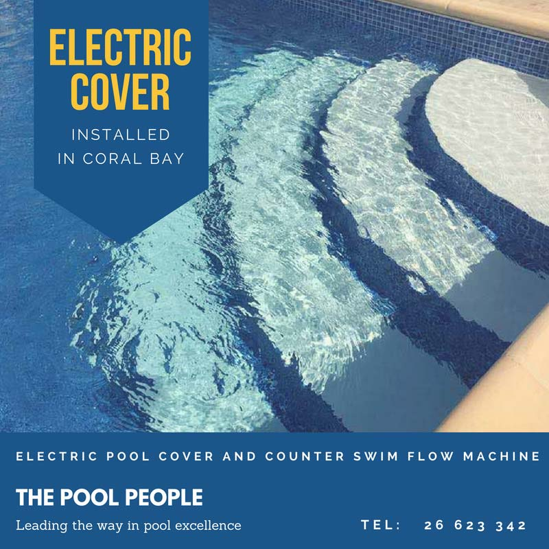 Electric Pool Cover in Coral Bay, Cyprus | The Pool People